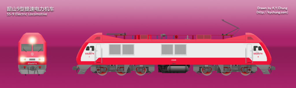 SS9 Electric Locomotive